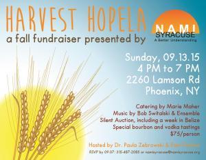 Harvest Hopela Invitation Design Final