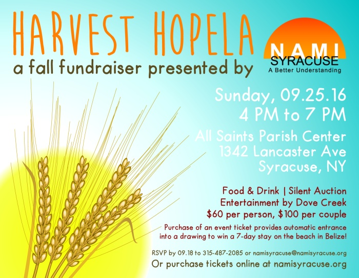 Harvest Hopela Invitation Design 2016